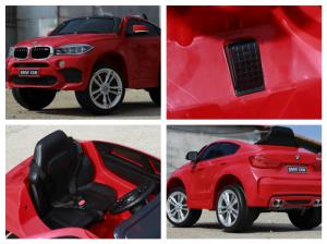 Masinuta electrica BMW X6M 2x35W STANDARD #Rosu9