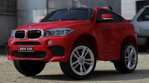 Masinuta electrica BMW X6M 2x35W 12V PREMIUM #Rosu2