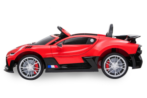 Kinderauto Buggati Divo 2x45W 12V PREMIUM #Rosu2