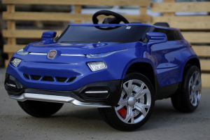 Masinuta electrica Fiat FCC4 2x25W 12V STANDARD #Albastru3