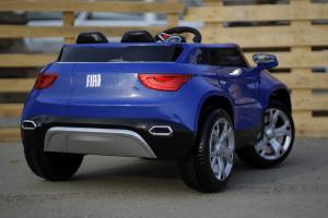 Masinuta electrica Fiat FCC4 2x25W 12V STANDARD #Albastru5