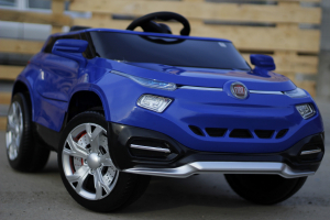 Masinuta electrica Fiat FCC4 2x25W 12V STANDARD #Albastru2
