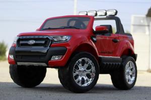 Masinuta electrica Ford Ranger 4x4 PREMIUM 4x35W #Rosu2