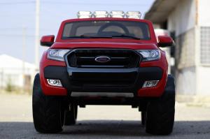 Masinuta electrica Ford Ranger 4x4 PREMIUM 4x35W #Rosu1
