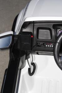 Masinuta electrica Ford Ranger F650 POLICE STANDARD 2x 35W 12V #Alb6
