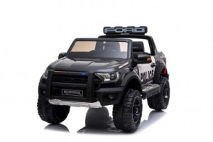Masinuta electrica Ford Ranger F650 POLICE STANDARD 2x 35W 12V #Negru1