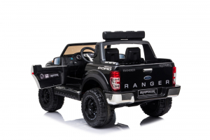 Masinuta electrica Ford Ranger F650 POLICE STANDARD 2x 35W 12V #Negru7