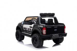 Masinuta electrica Ford Ranger F650 POLICE STANDARD 2x 35W 12V #Negru5