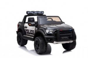 Masinuta electrica Ford Ranger F650 POLICE STANDARD 2x 35W 12V #Negru3