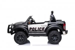 Masinuta electrica Ford Ranger F650 POLICE STANDARD 2x 35W 12V #Negru6