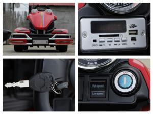 Kart electric Dooma GO! KART 2x 35W 12V STANDARD #Rosu9