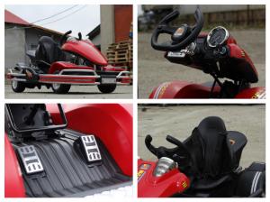 Kart electric Dooma GO! KART 2x 35W 12V STANDARD #Rosu6