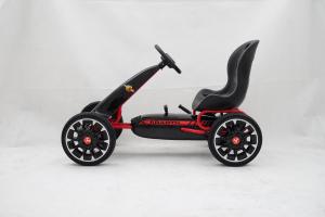 Kinderauto GO Kart cu pedale de la Fiat Abarth #Negru3