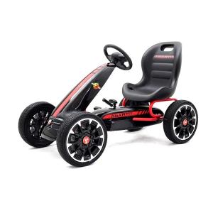 Kinderauto GO Kart cu pedale de la Fiat Abarth #Negru0