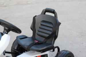 Kinderauto GO Kart cu pedale de la FORD #Alb5