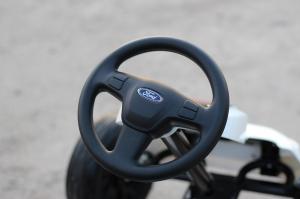 Kinderauto GO Kart cu pedale de la FORD #Alb7