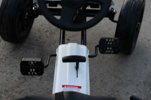 Kinderauto GO Kart cu pedale de la FORD #Alb6