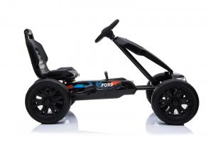 Kinderauto GO Kart cu pedale de la FORD #Negru2