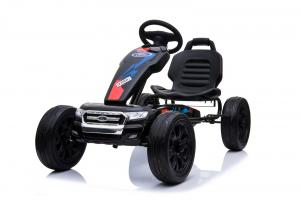 Kinderauto GO Kart cu pedale de la FORD #Negru3