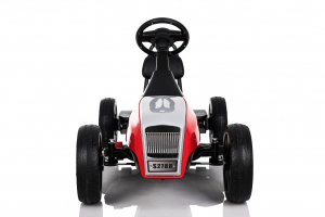 Kinderauto GO Kart electric S2788 RETRO #Rosu1
