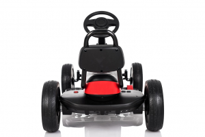 Kinderauto GO Kart electric S2788 RETRO #Rosu5