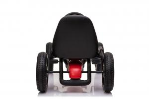 Kinderauto GO Kart cu pedale de la Mercedes #Rosu2