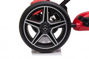 Kinderauto GO Kart cu pedale de la Mercedes #Rosu3