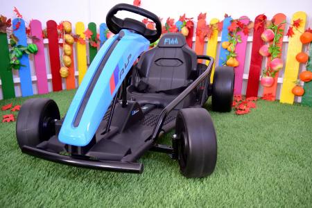 Kart electric copii 3-11 ani SX1968, albastru, 500W [6]