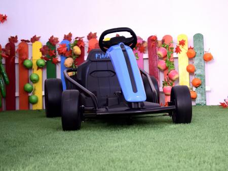 Kart electric copii 3-11 ani SX1968, albastru, 500W [5]