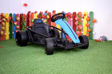 Kart electric copii 3-11 ani SX1968, albastru, 500W [1]