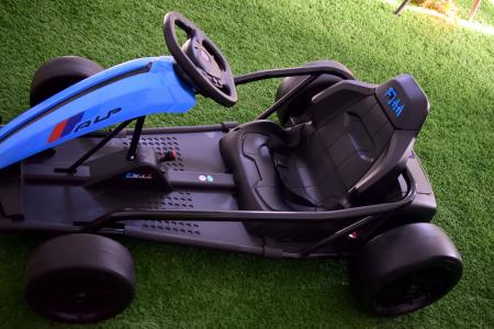 Kart electric copii 3-11 ani SX1968, albastru, 500W [8]