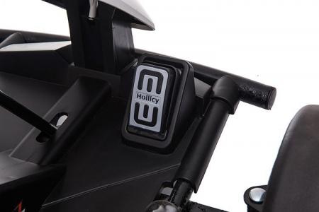 Go Kart electric pentru copii, 500W, roti moi, rosu [8]