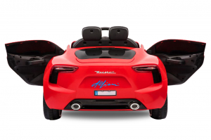 Masinuta electrica Maserati Alfieri STANDARD 12V 2x35W #Rosu1