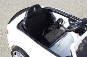 Masinuta electrica Maserati Kids CU ROTI MOI 2x 35W 12V #Alb9