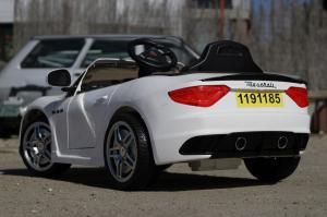 Masinuta electrica Maserati Kids CU ROTI MOI 2x 35W 12V #Alb5