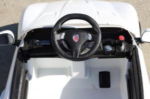 Masinuta electrica Maserati Kids CU ROTI MOI 2x 35W 12V #Alb7