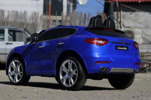 Masinuta electrica Maserati Levante 2x35W PREMIUM #Albastru6