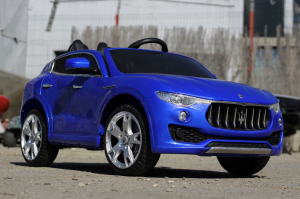 Masinuta electrica Maserati Levante 2x35W PREMIUM #Albastru3