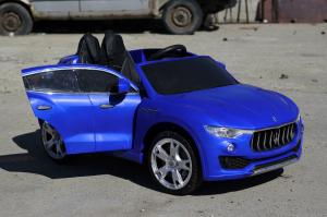 Masinuta electrica Maserati Levante 2x35W PREMIUM #Albastru4