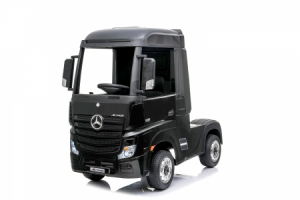 Kinderauto Mercedes ACTROS 4x4 PREMIUM 4x45W #Negru0