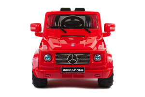 Kinderauto Mercedes G55 AMG 12V CU ROTI MOI #Rosu2