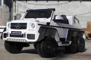 Masinuta electrica Mercedes G63 6x6 Premium #ALB3