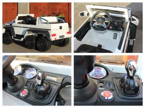 Masinuta electrica Mercedes G63 6x6 Premium #ALB8