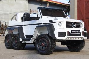 Masinuta electrica Mercedes G63 6x6 Premium #ALB2
