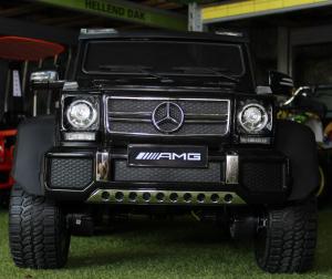 Masinuta electrica Mercedes G63 6x6 Premium cu 6 motoare #Negru1