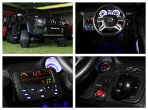 Masinuta electrica Mercedes G63 6x6 270W Premium #Negru7