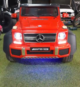 Kinderauto Mercedes G63 6x6 Premium #Rosu6