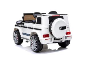 Kinderauto Mercedes G63 AMG 2x25W STANDARD #Alb2