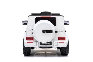 Kinderauto Mercedes G63 AMG 2x25W STANDARD #Alb1