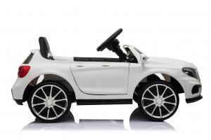 Masinuta electrica Mercedes GLA 45 2x30W STANDARD #Alb4